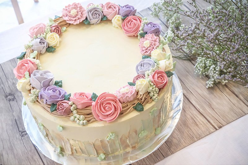Floral Series Customised Cakes Baker S Brew Studio Singapore