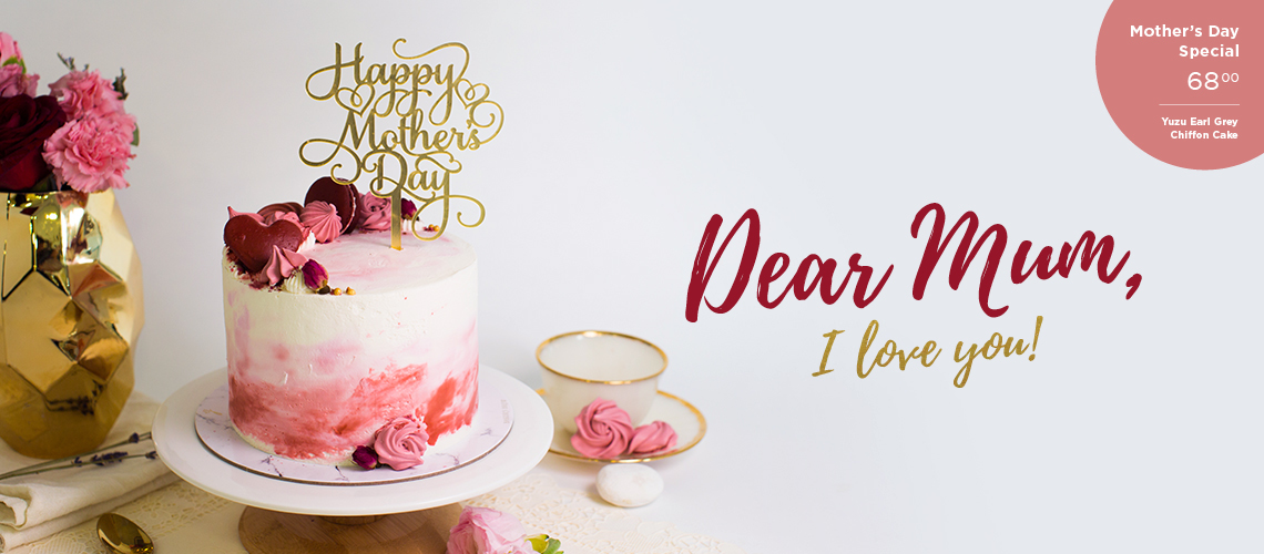 Yuzu Earl Grey Chiffon Cake Mother's Day 2019