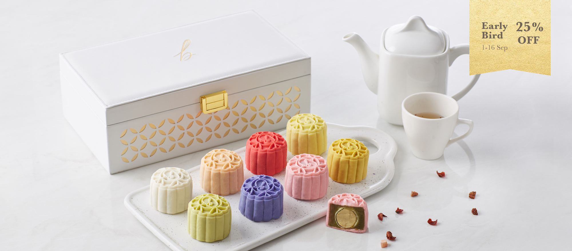Snowskin Mooncakes Early Bird