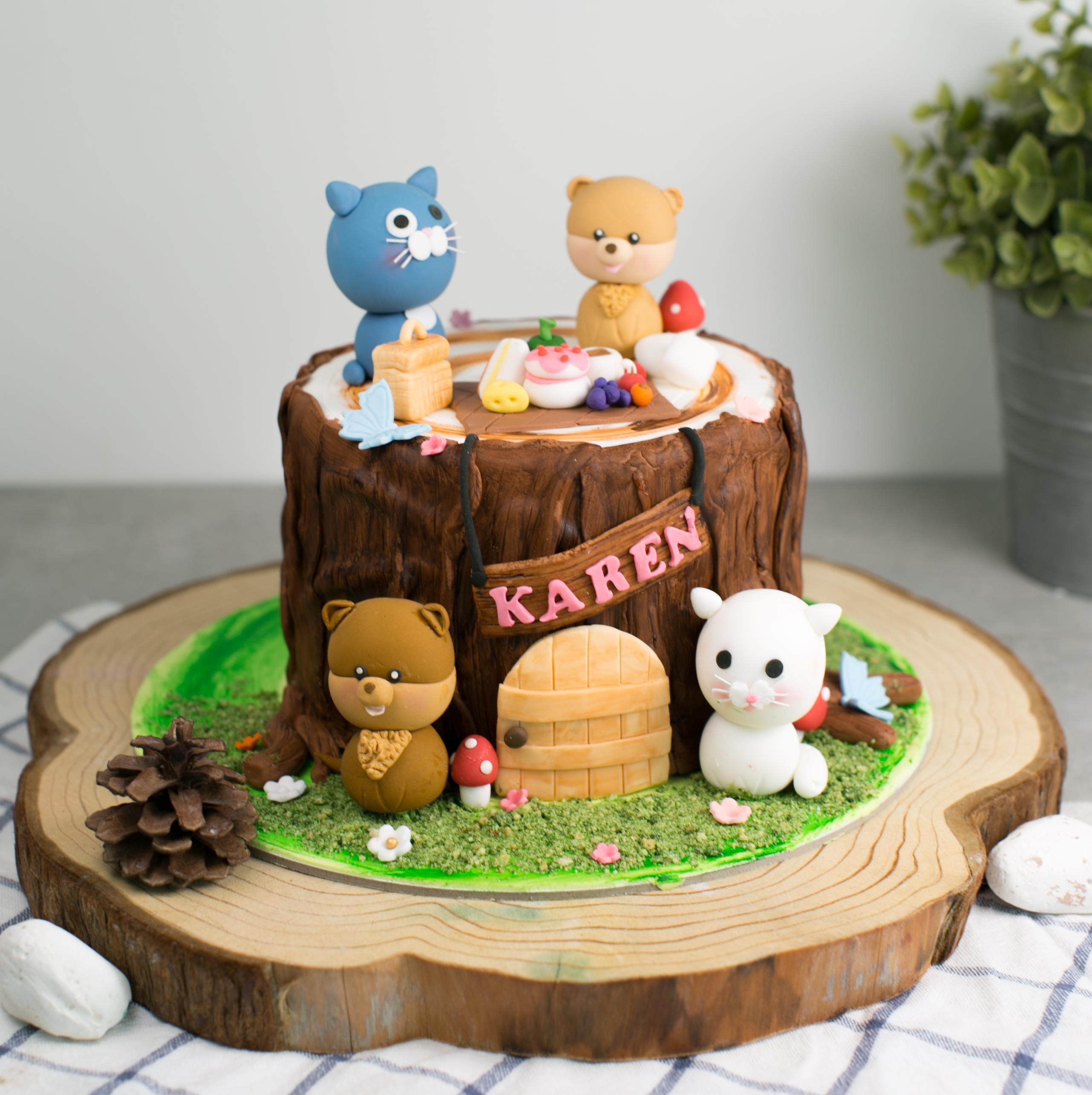 Kid's Birthday Cake - Baker's Brew | Singapore