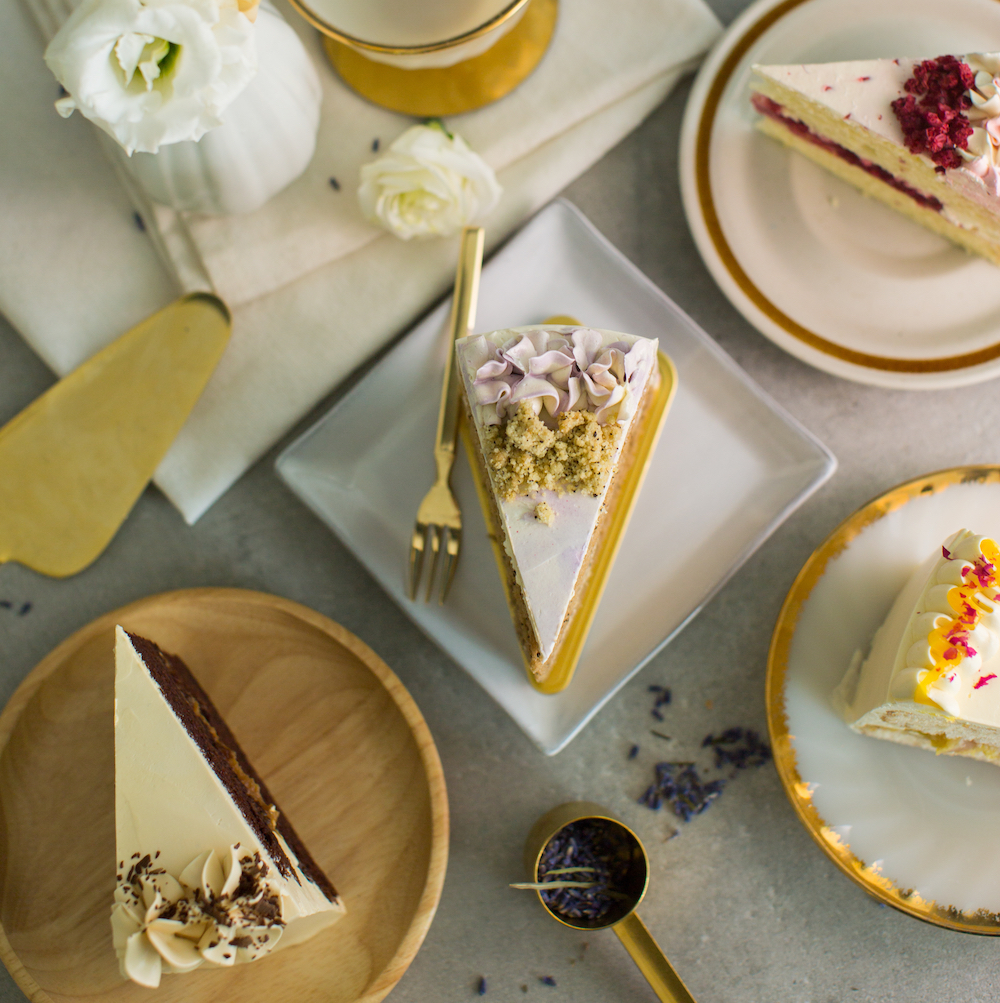 Artisanal Cake Slices