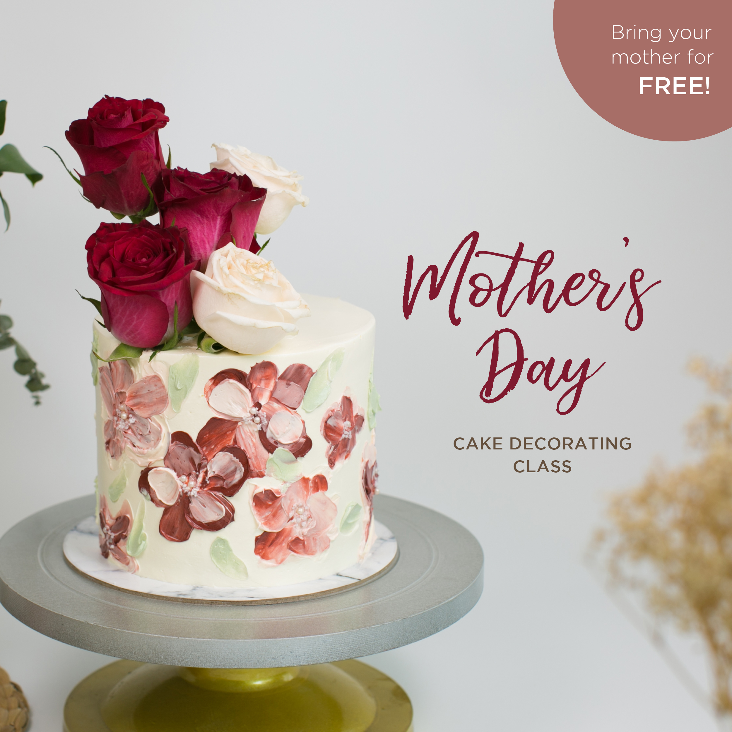 Mother's Day Cake Decorating Class
