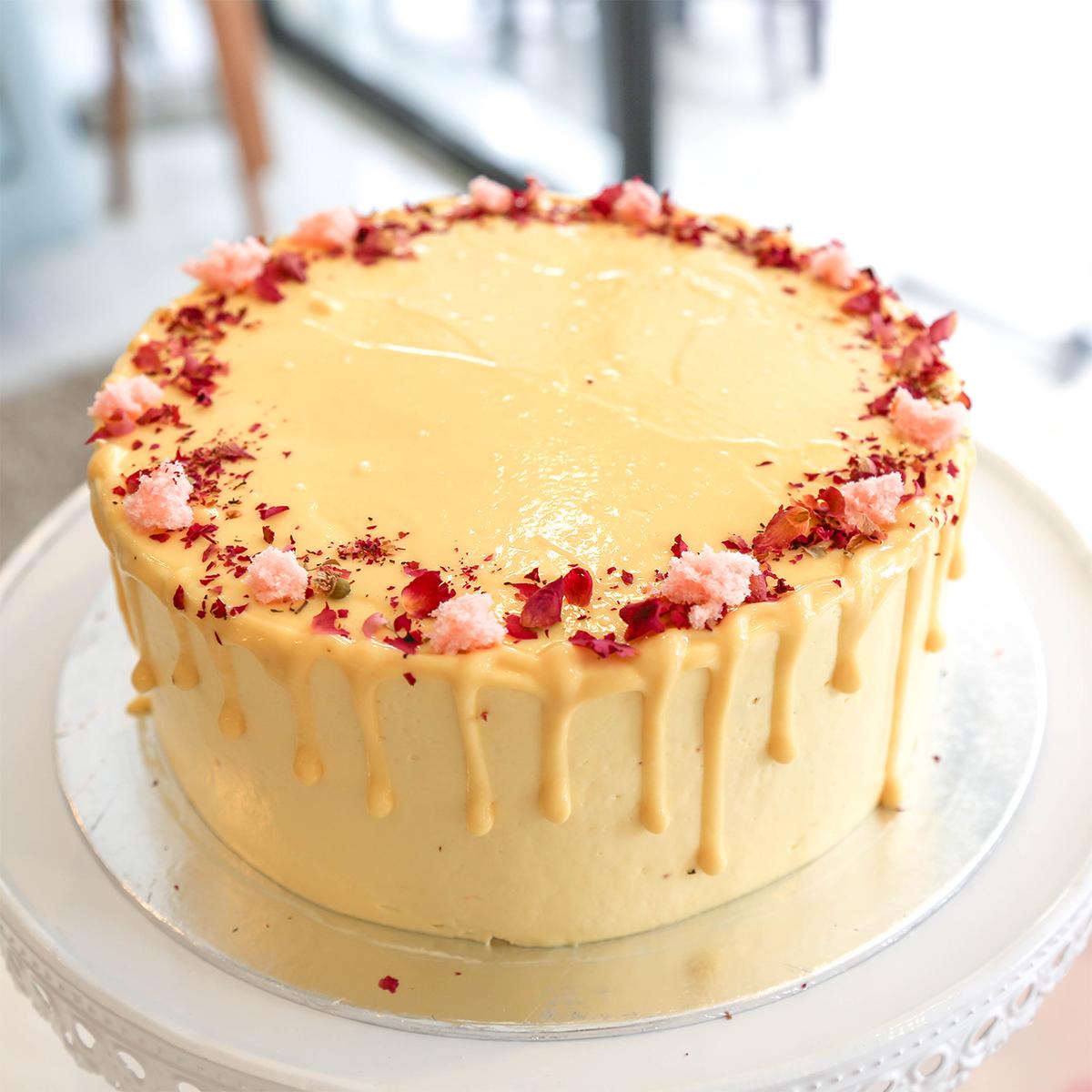 Lychee Sponge Cake