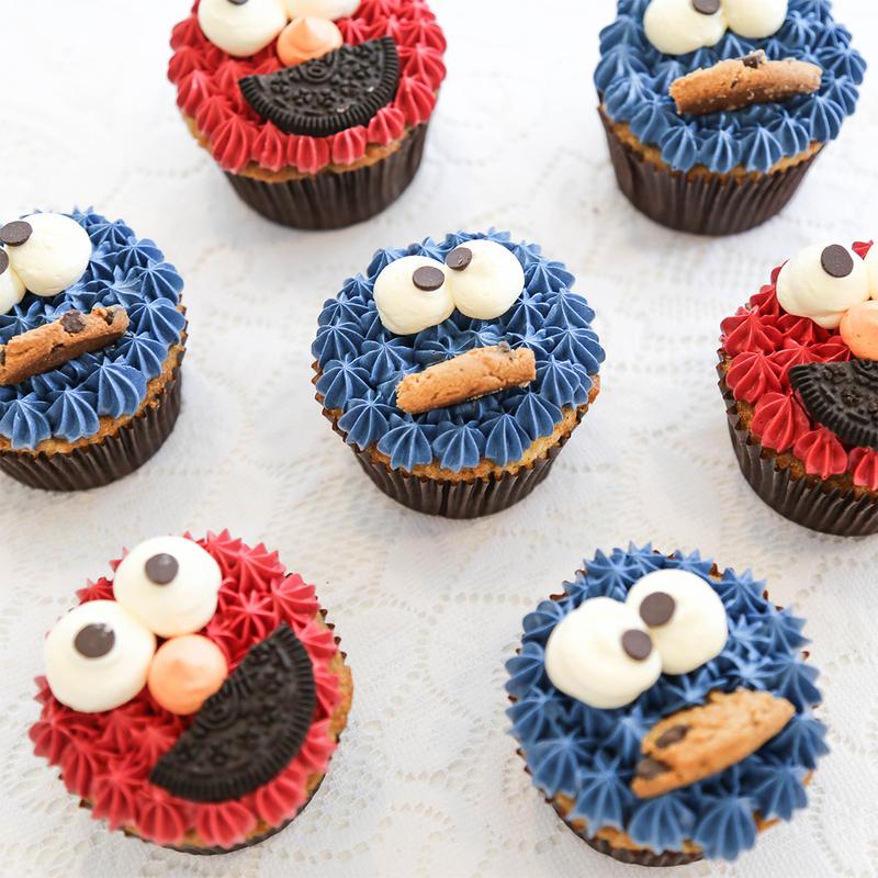 Elmo Cupcakes Singapore