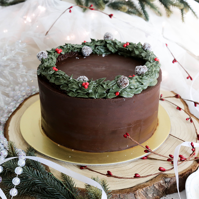 Best Peppermint Mocha Christmas Cake Singapore