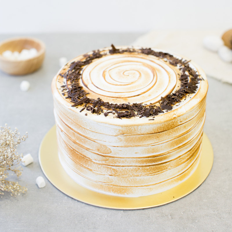 Best Toasted Marshmallow Chocolate Cake Singapore