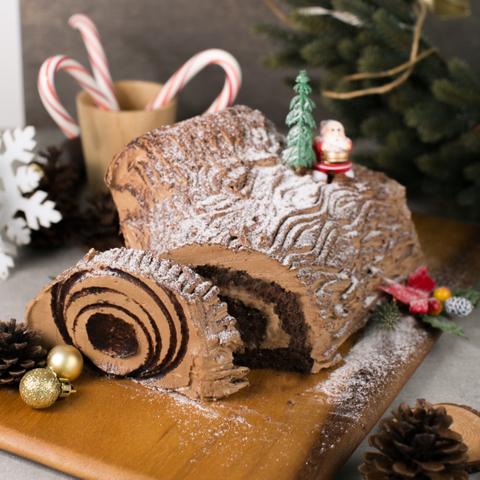 Dark Chocolate Yule Log (Private - Ai Ling 15PAX) 2