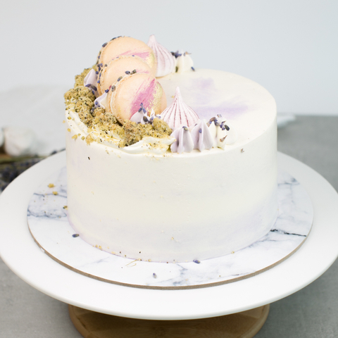 Earl Grey Lavender Cake (New Edition)
