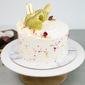 Roasted Pistachio and Rose Birthday Cake Singapore