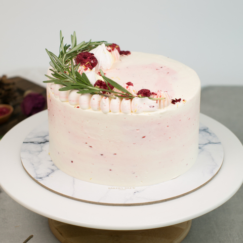 Lemon Raspberry Cake (New Edition)
