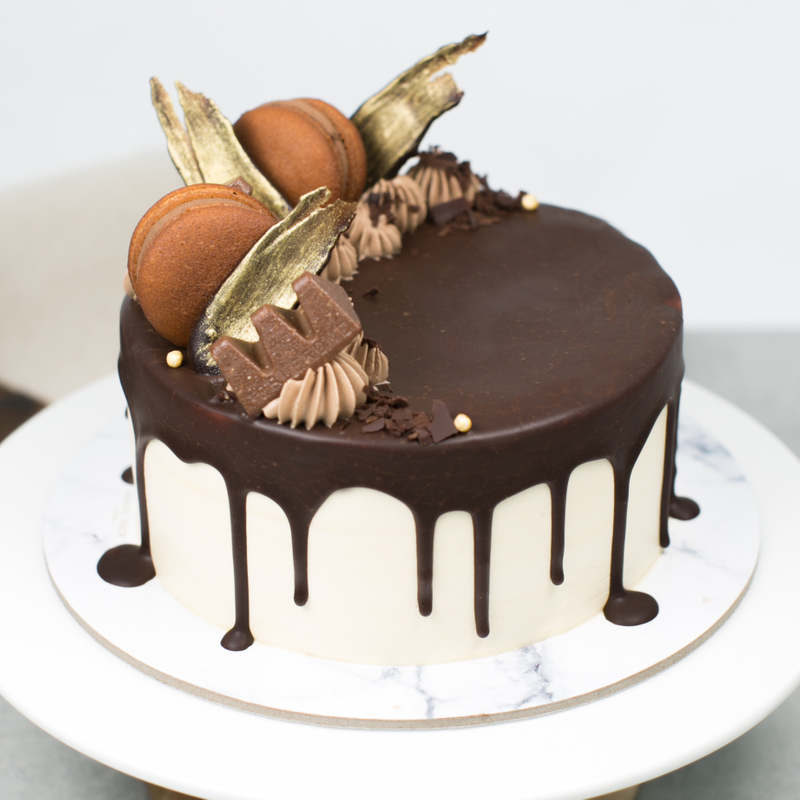 Best Salted Caramel Chocolate Birthday Cake Singapore