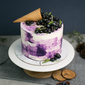 Best Rustic Berry Cone Swirl Birthday Cake Singapore