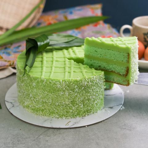 Pandan Kaya Cake 23