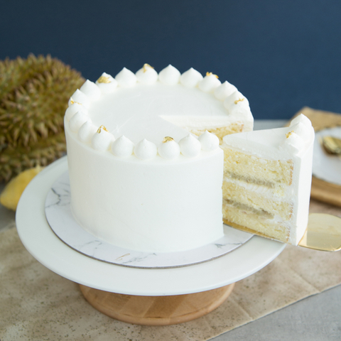 Durian Fresh Cream Cake 4