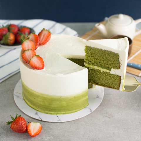 Matcha White Chocolate Cake 61