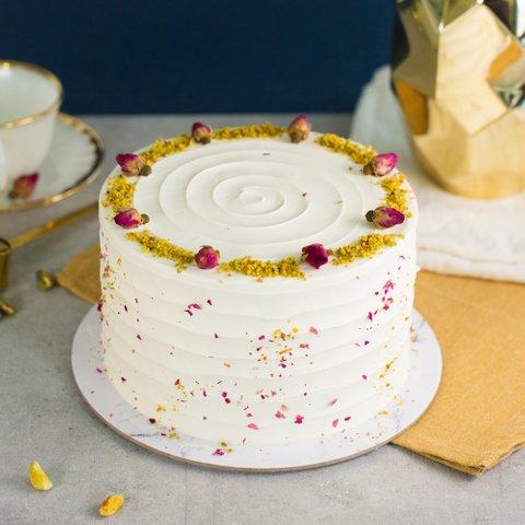 Roasted Pistachio and Rose Cake (NEW!) 95