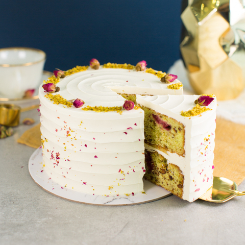 Roasted Pistachio and Rose Cake (NEW!) 72