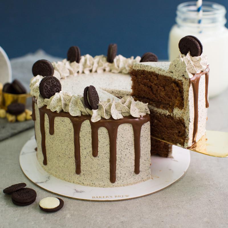 Oreo Nutella Cake 48