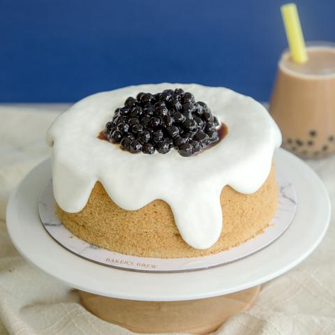Brown Sugar Bubble Tea Cake 6