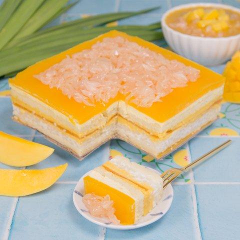 Mango Pomelo Sago Cake