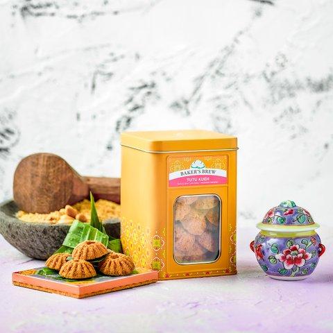 Tutu Kueh Peanut Cookies