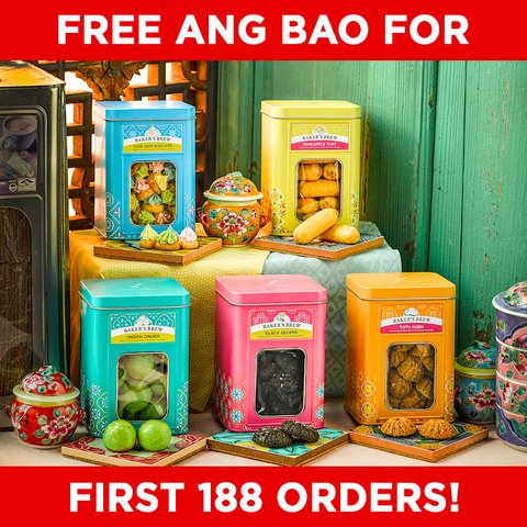 Peranakan Nostalgia Collection (Bundle of 5) Free Ang Bao!