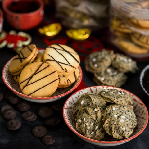 Salted Caramel and Oolong Lychee Cookies 4