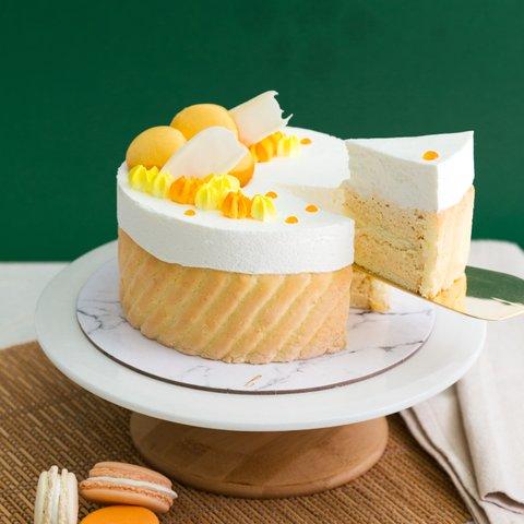 Chempedak Charlotte Cake 5