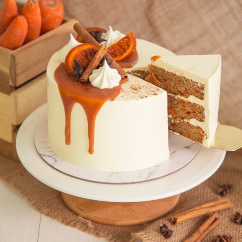 Hummingbird Carrot Cake 19