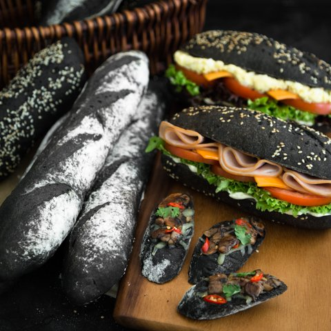 Squid Ink Baguettes & Subway Sandwiches 7