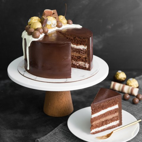 Chocolate Truffle Cake 10