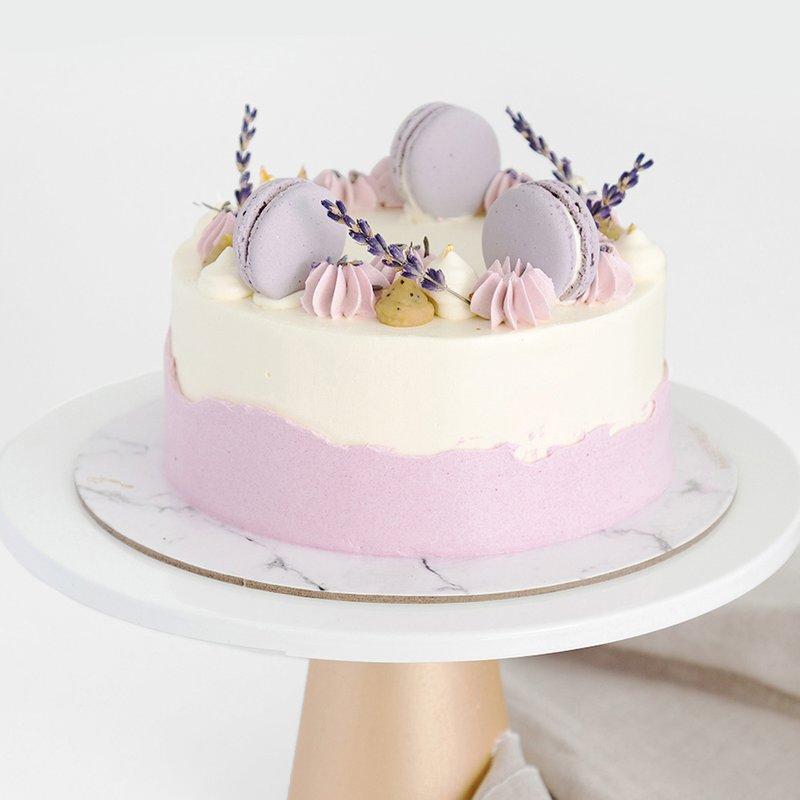 Best Earl Grey Lavender Cake Singapore - Baker's Brew Studio
