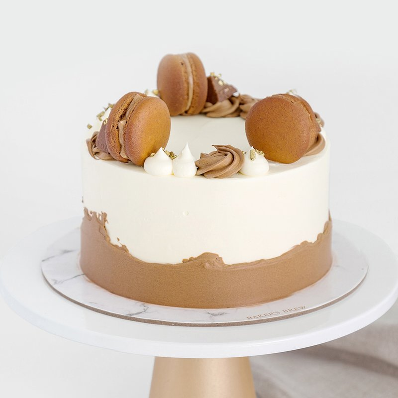 Best Full Chocolate Cake Singapore - Baker's Brew Studio