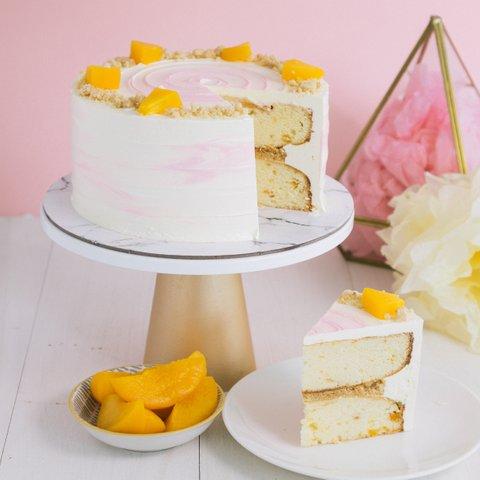 Peach Cobbler Cake (NEW!) 14