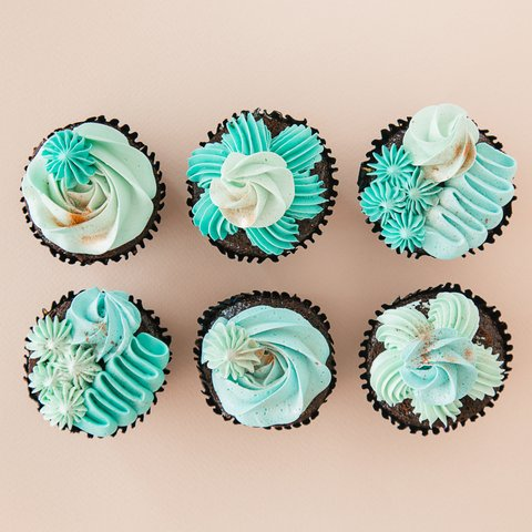Tiffany Blue Swirls