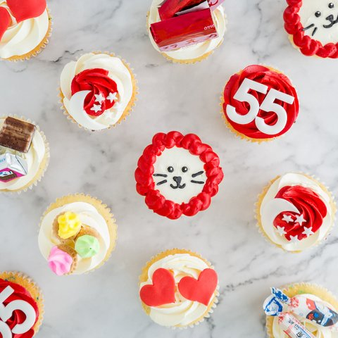 #SGUNITED National Day 2020 Cupcakes