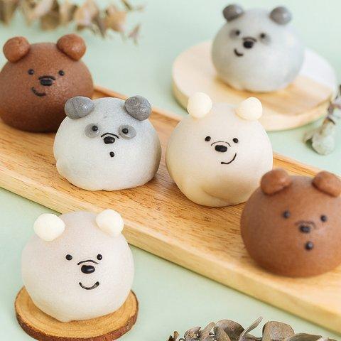 We Bare Bear Snowskin Mooncakes 5