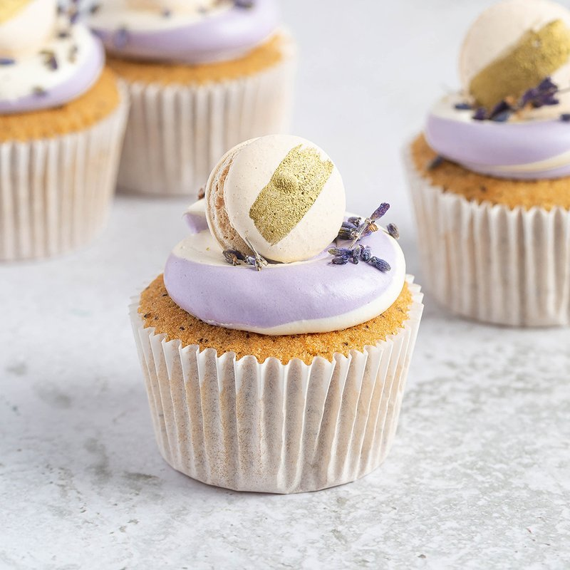 Earl Grey Lavender Cupcakes | Online Cake Delivery Singapore | Baker