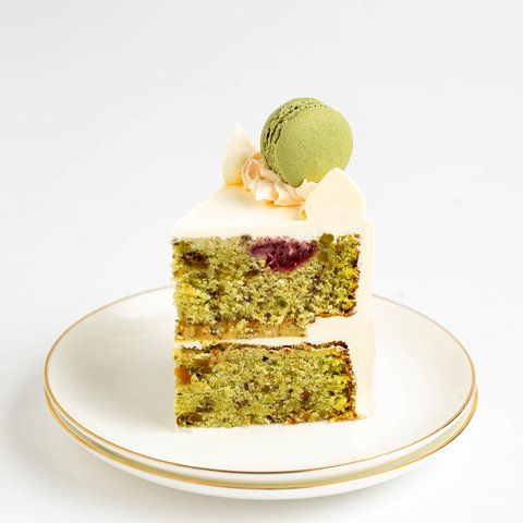 Roasted Pistachio and Rose (up to 11 slices)