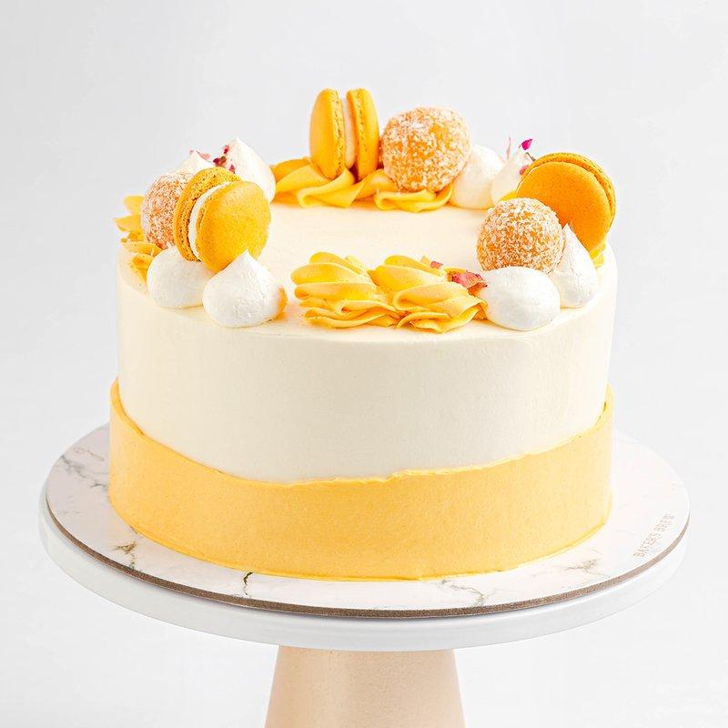 Best Lychee Mango Cake Singapore - Baker's Brew Studio