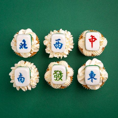 Heng Heng Mahjong Cupcakes