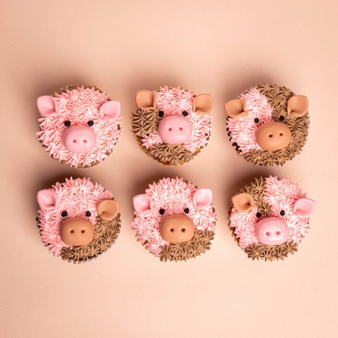 Six Little Piggies