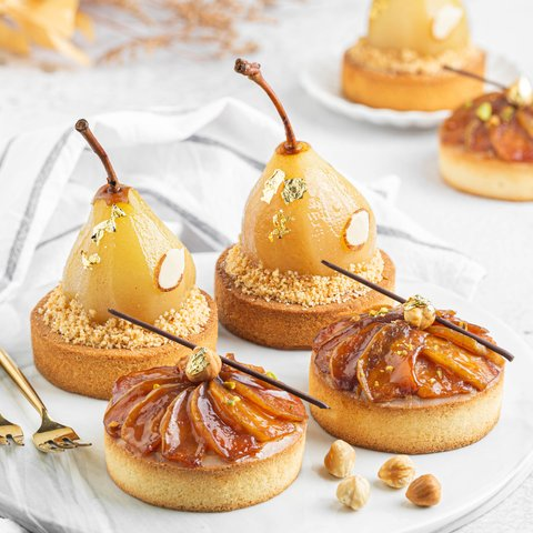 Pomme & Poire Tartlets (Jessica - Private 8 Pax)