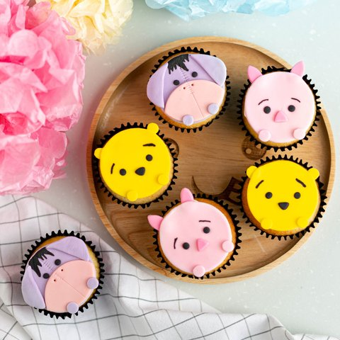 Tsum Tsum Cupcakes (March Holidays Kids Class) 4